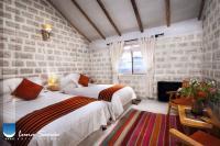 twin room with lake views