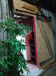Zimmereingänge mit Schiebetüren