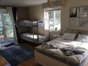 Bedroom 3 ( family room- double + a bunk bed )